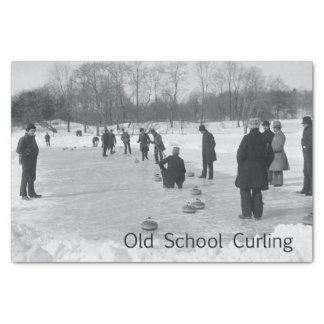 TOP Curling Old School Tissue Paper