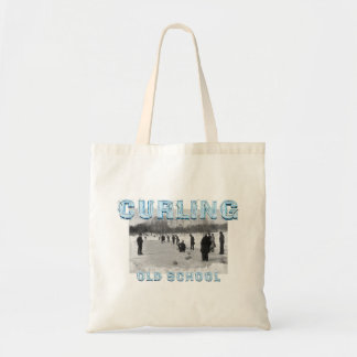TOP Curling Old School Tote Bag