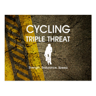 TOP Cycling Triple Threat Postcard