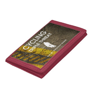 TOP Cycling Triple Threat Tri-fold Wallet