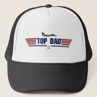 Top Dad Logo Trucker Hat