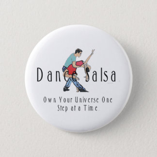 TOP Dance Salsa 6 Cm Round Badge