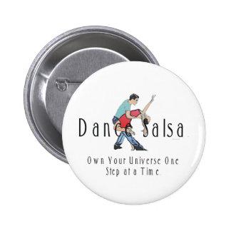 TOP Dance Salsa 6 Cm Round Badge