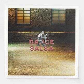 TOP Dance Salsa Disposable Serviettes