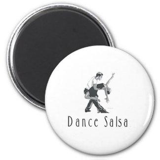TOP Dance Salsa Magnet
