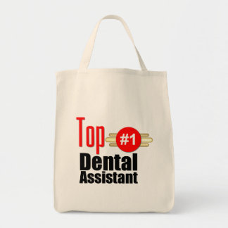 Top Dental Assistant Grocery Tote Bag