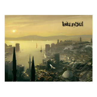 Top design- Istanbul by SLW Postcard