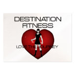 TOP Destination Fitness Business Cards