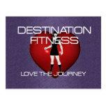 TOP Destination Fitness Postcard