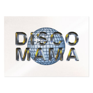 TOP Disco Mama Business Cards