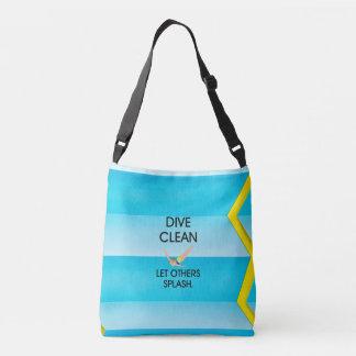 TOP Dive Clean Crossbody Bag