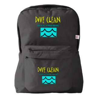 TOP Dive Clean No Ripples Backpack