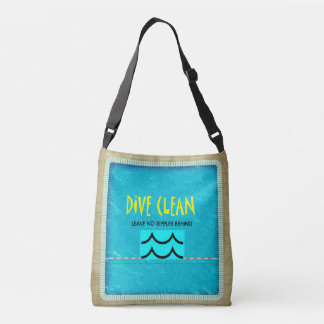 TOP Dive Clean No Ripples Crossbody Bag