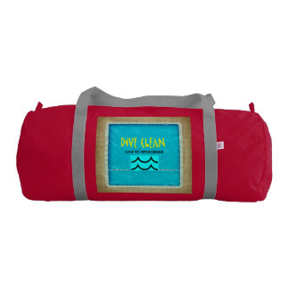 TOP Dive Clean No Ripples Gym Duffel Bag