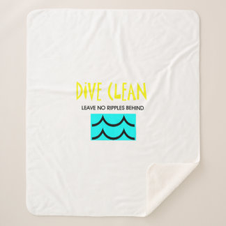 TOP Dive Clean No Ripples Sherpa Blanket