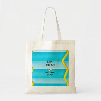 TOP Dive Clean Tote Bag