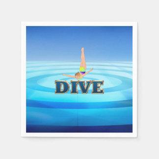 TOP Dive Disposable Serviette