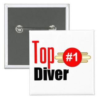 Top Diver Pin