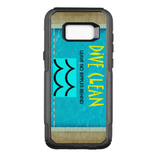 TOP Diving No Ripples OtterBox Commuter Samsung Galaxy S8+ Case