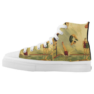 TOP Diving Old School Printed Shoes