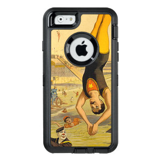 TOP Diving Slogan OtterBox Defender iPhone Case