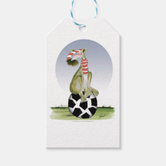 top dog reds soccer gift tags