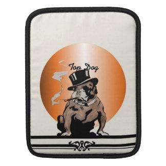 Top Dog Sleeve Vintage Bulldog with Cigar