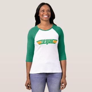 Top Drunk Retro St. Patrick's Day Shirt