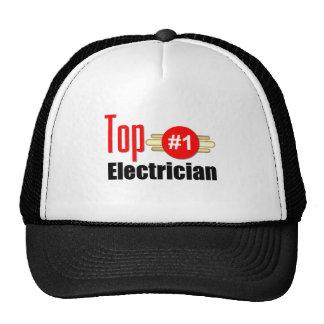Top Electrician Mesh Hats