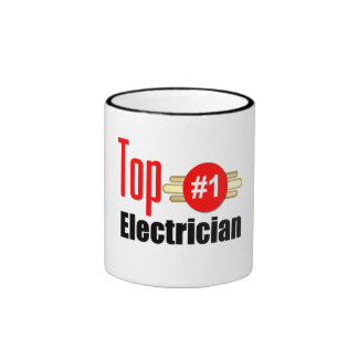 Top Electrician Ringer Mug