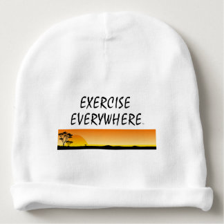 TOP Exercise Everywhere Baby Beanie