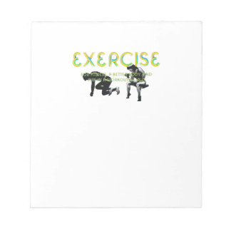 TOP Exercise Slogan Notepad