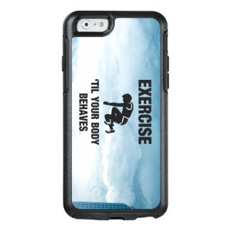 TOP Exercise Til Body Behaves OtterBox iPhone 6/6s Case