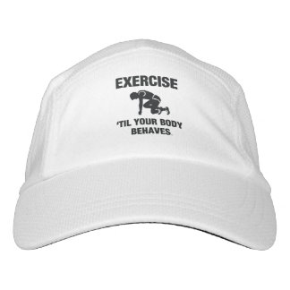 TOP Exercise Til Your Body Behaves Hat