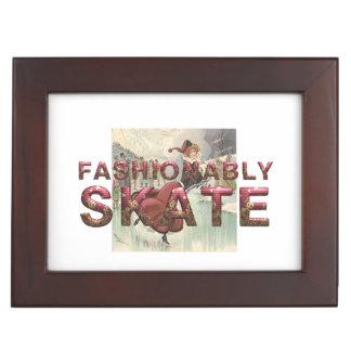 TOP Fashionably Skate Keepsake Box