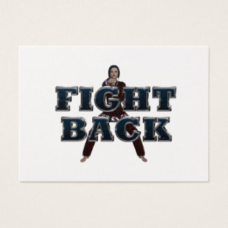 TOP Fight Back Business Card