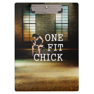 TOP Fit Chick Clipboard