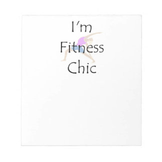 TOP Fitness Chic Notepad