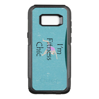 TOP Fitness Chic OtterBox Commuter Samsung Galaxy S8+ Case