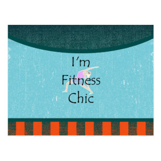 TOP Fitness Chic Postcard