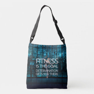 TOP Fitness Goal Crossbody Bag
