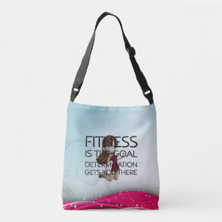TOP Fitness Goal Crossbody Bag