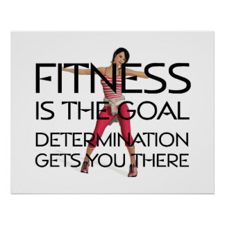 TOP Fitness Goal Poster