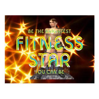 TOP Fitness Star Postcard