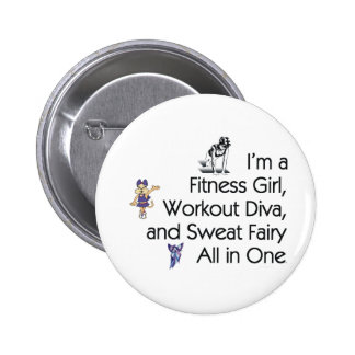 TOP Fitness Triple Play 6 Cm Round Badge