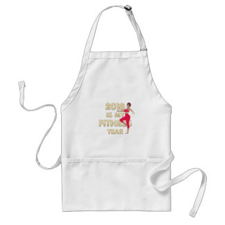 TOP Fitness Year Standard Apron