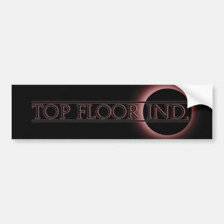 top floor logo 1 bumper sticker