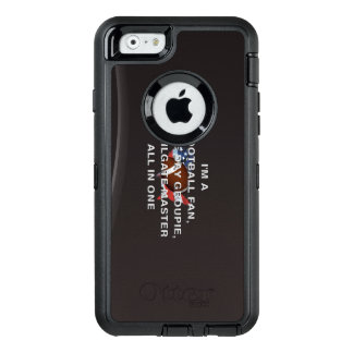 TOP Football All in One OtterBox Defender iPhone Case