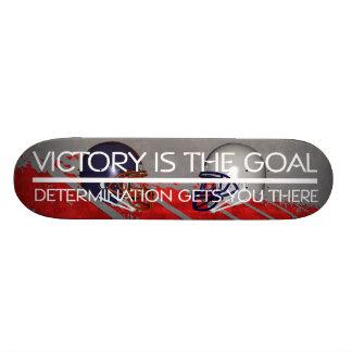 TOP Football Victory Slogan Skate Deck
