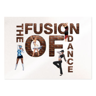TOP Fusion of Dance Business Card